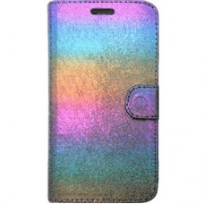 Capa Book Cover para Galaxy On7 2016 e J7 Prime - Rainbow